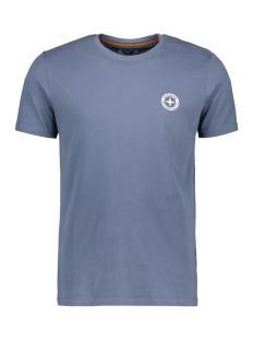 Haze & Finn T-shirt TEE LOGO EMBRO MU13 0010 LIGHT INDIGO
