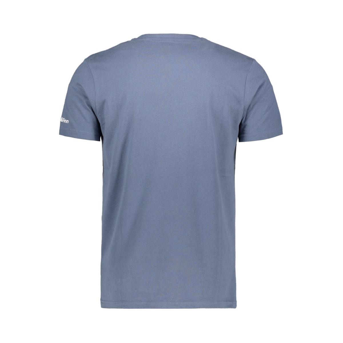 tee logo embro mu13 0010 haze & finn t-shirt light indigo