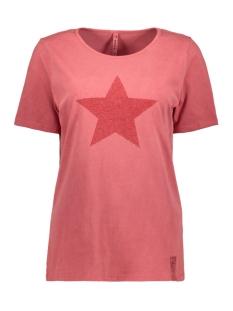 Zoso T-shirt MARVEL GARMENT DYE T SHIRT 201 0072 DESERT RED