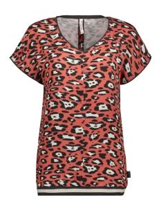 runner woven printed shirt 201 zoso t-shirt 0072 desert red