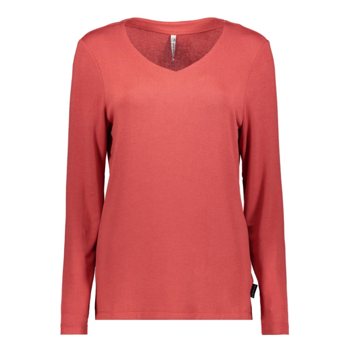 viv luxury basic shirt 201 zoso trui 0072 desert red
