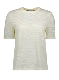 Tom Tailor T-shirt T SHIRT IN BLEEK ZEBRA PATROON 1018870XX77 22798