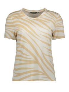 Tom Tailor T-shirt T SHIRT IN ZEBRA PATROON 1018868XX77 22794