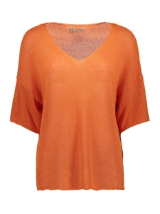 Smith & Soul Trui OVERSIZE PULLOVER 0320 0353 325/ FLAME ORANGE