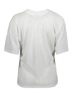low v neck tee linen 20 750 0202 10 days t-shirt white