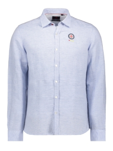 NZA Overhemd MAORI 20BN504 259 FRESH BLUE