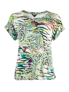 NED T-shirt BRISIA SS GREEN XPS20S3 X446 01 200 GREEN