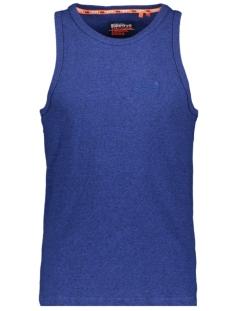 Superdry T-shirt OL VINTAGE EMBROIDERY VEST M6010071A VIVID COBALT GRIT