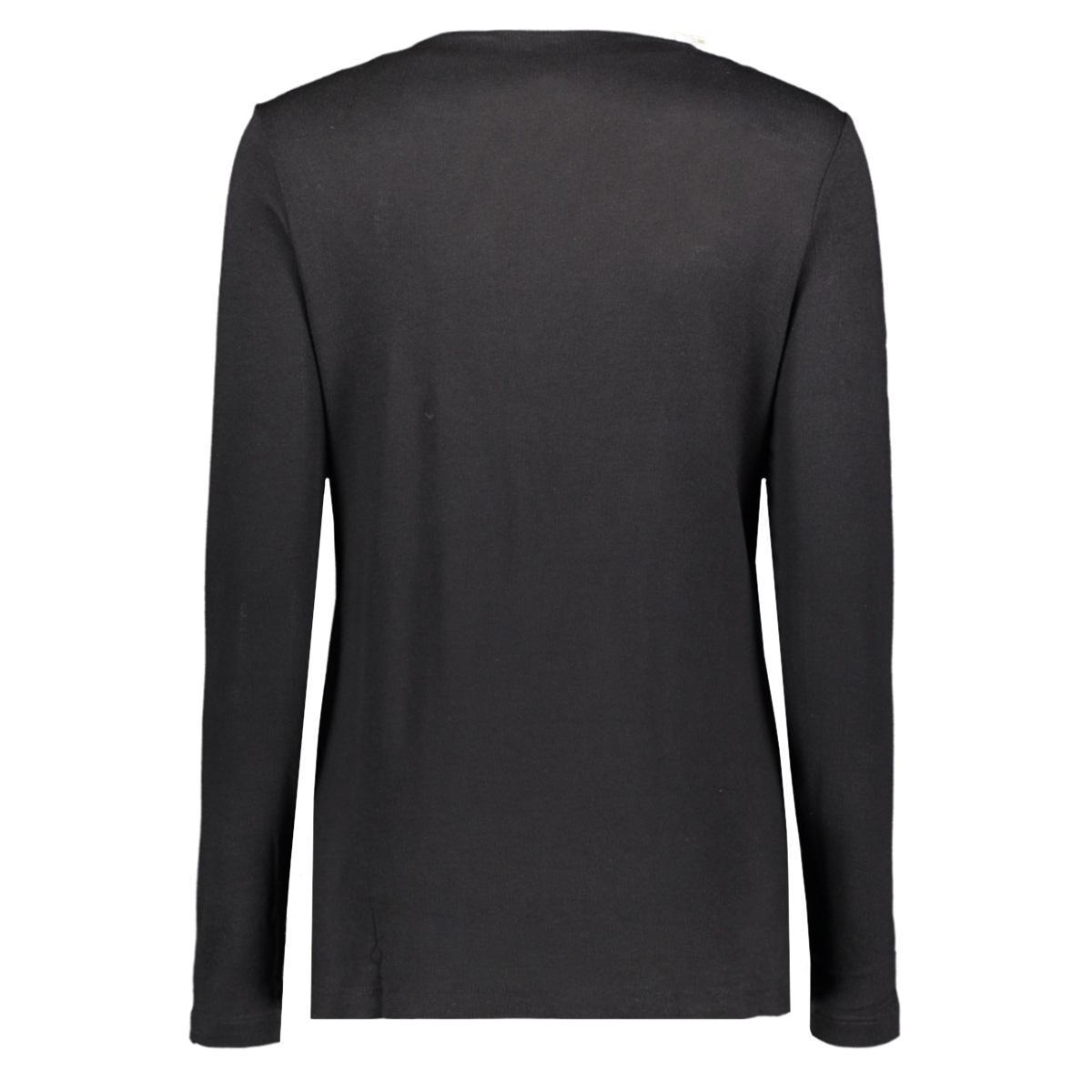 viv luxury basic shirt 201 zoso trui 0000 black