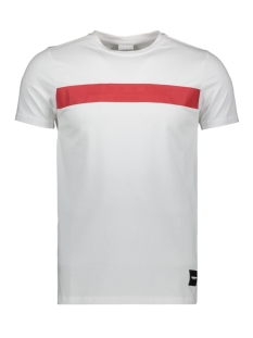 Ballin T-shirt BALLIN 20019101 01 WHITE