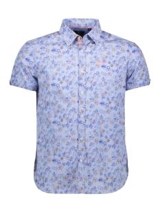 NZA Overhemd WAIMEHA 19DN503D 258 Maori Blue