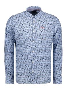 NZA Overhemd WAIKITI 20GN553 312 Sapphire Blue