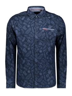 NZA Overhemd WALCOT 20GN577 396 Indigo