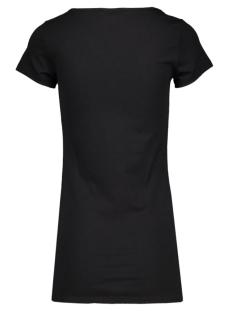 maxi my ss long u-neck 10059321 vero moda t-shirt black
