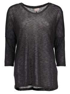 anna asti 3/4 top noos 10115018 vero moda t-shirt black