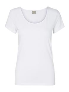 vmmaxi ss soft u-neck 10148254 vero moda t-shirt bright white