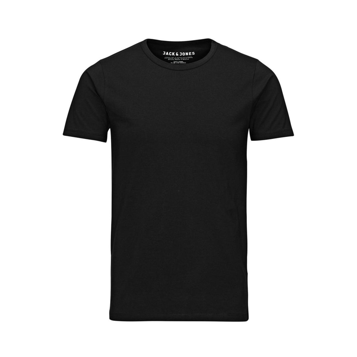 basic o-neck tee s/s noos jack & jones t-shirt black