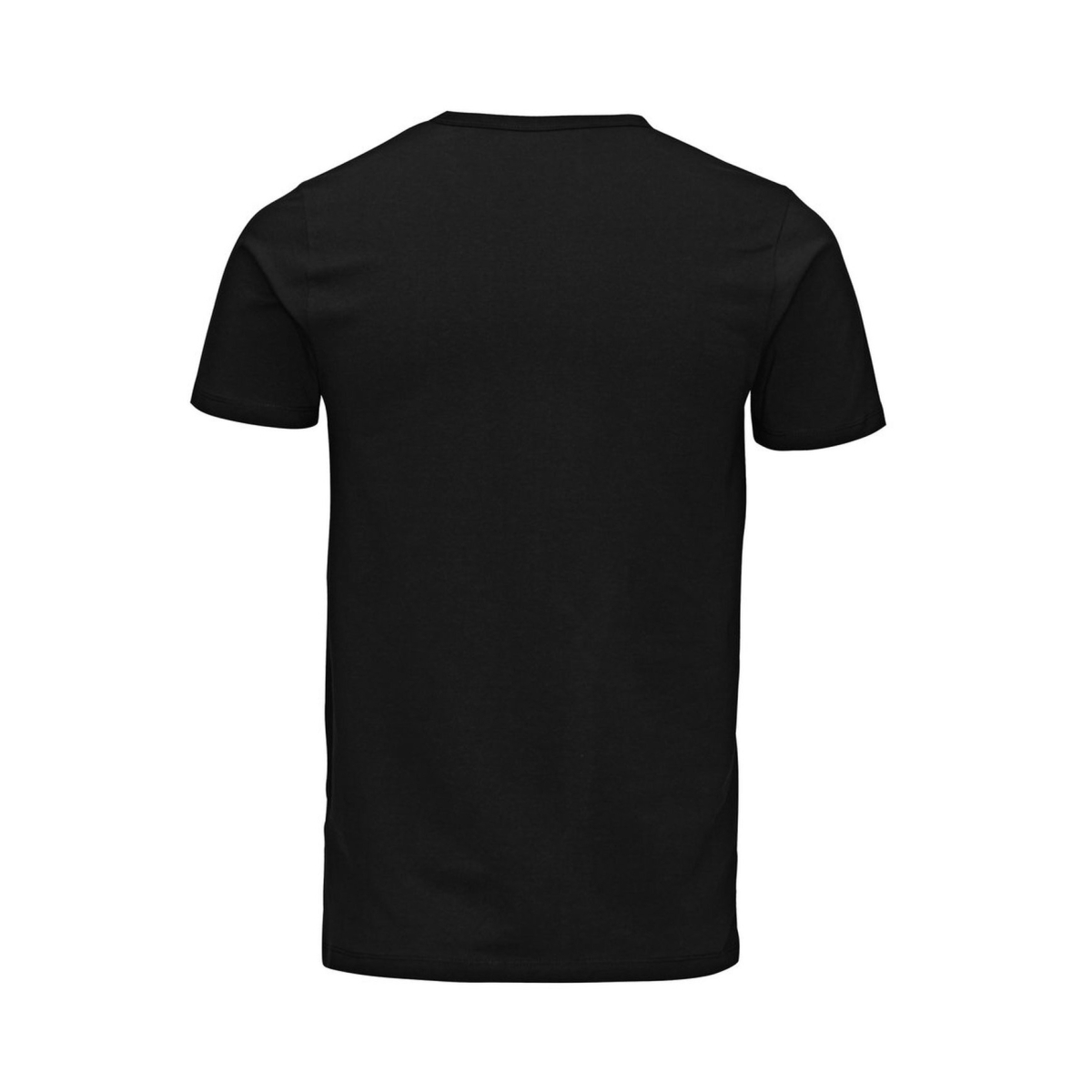 basic o-neck tee 12058529 jack & jones t-shirt black
