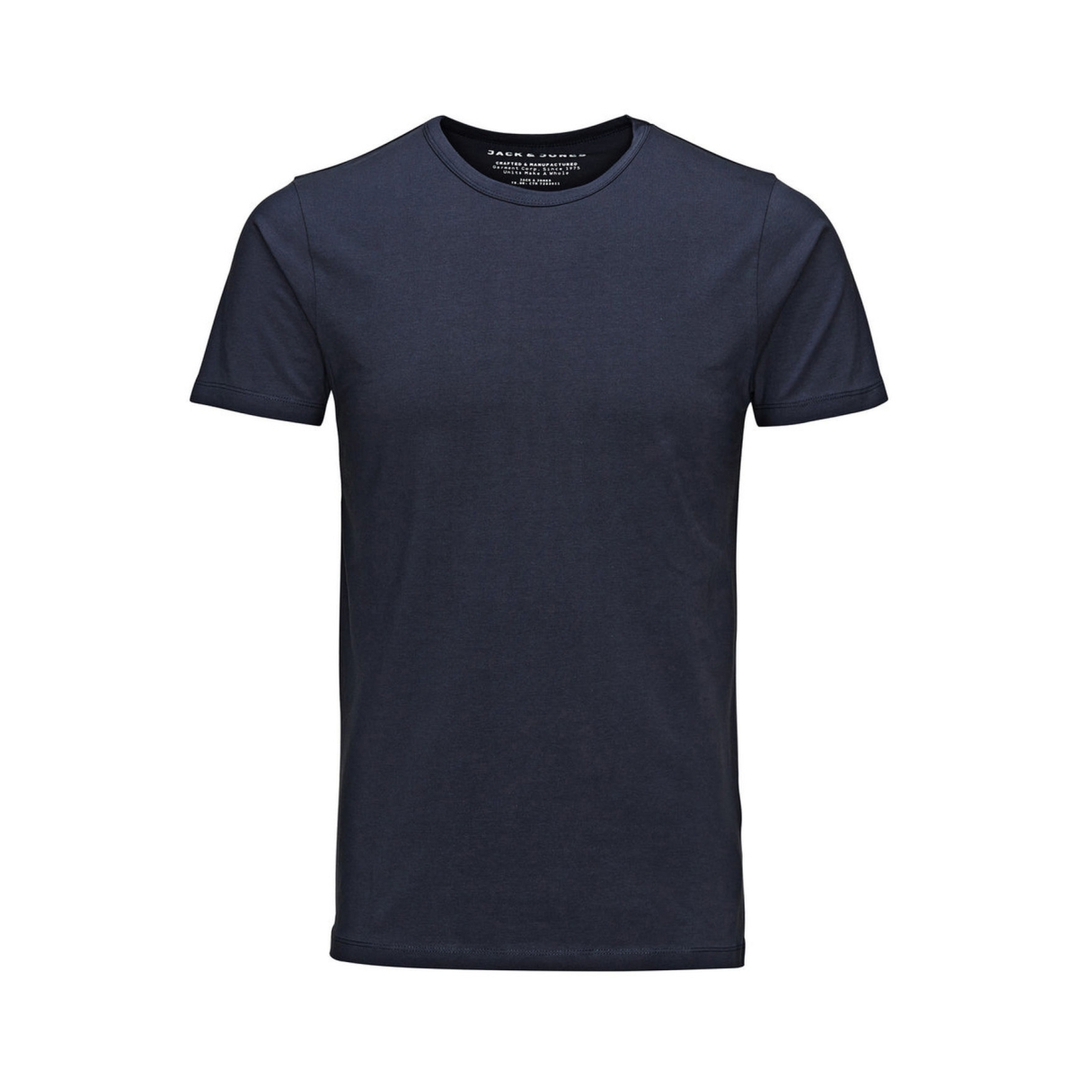 basic o-neck tee 12058529 jack & jones t-shirt navy blue