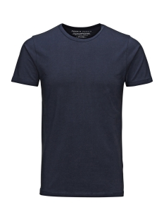 Basic O-Neck Tee 12058529 navy blue
