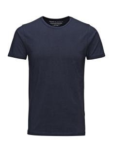 Basic O-Neck Tee 12058529 navy blue