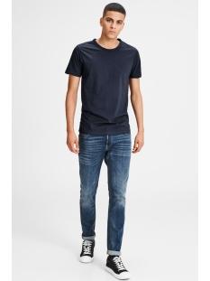 basic o-neck tee s/s noos 12058529 jack & jones t-shirt navy blue