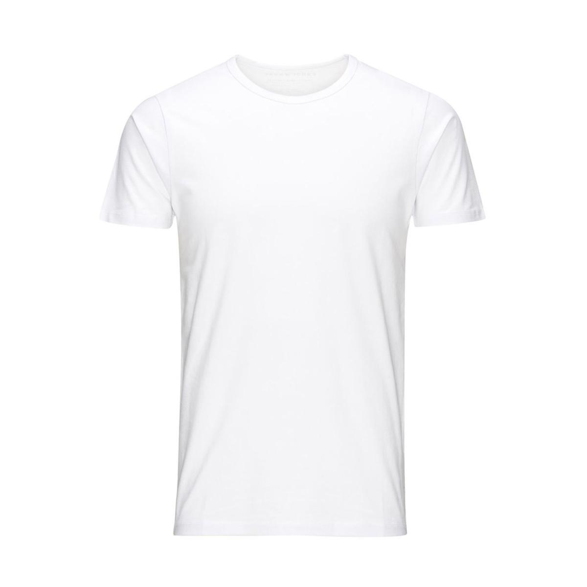basic o-neck tee 12058529 jack & jones t-shirt opt. white