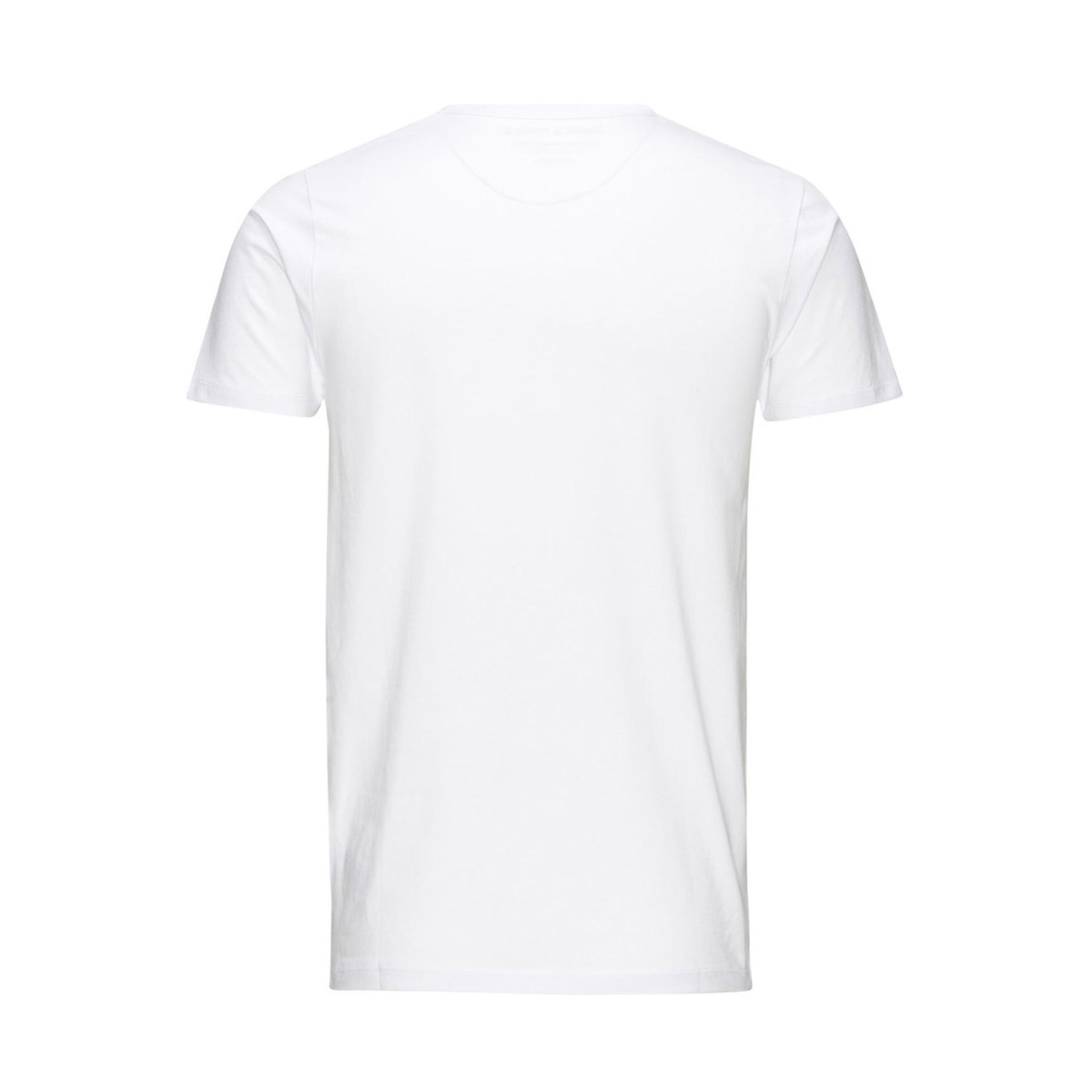 basic o-neck tee 12058529 jack & jones t-shirt opt. white