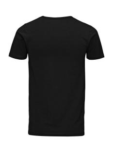basic v-neck tee 12059219 jack & jones t-shirt black