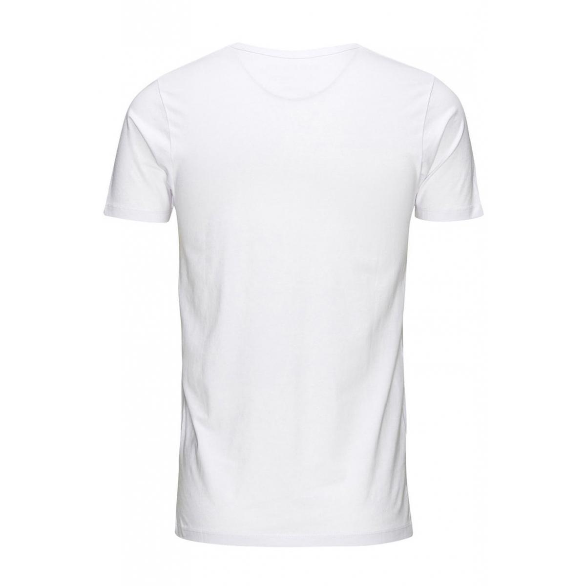 basic v-neck tee s/s noos 12059219 jack & jones t-shirt white