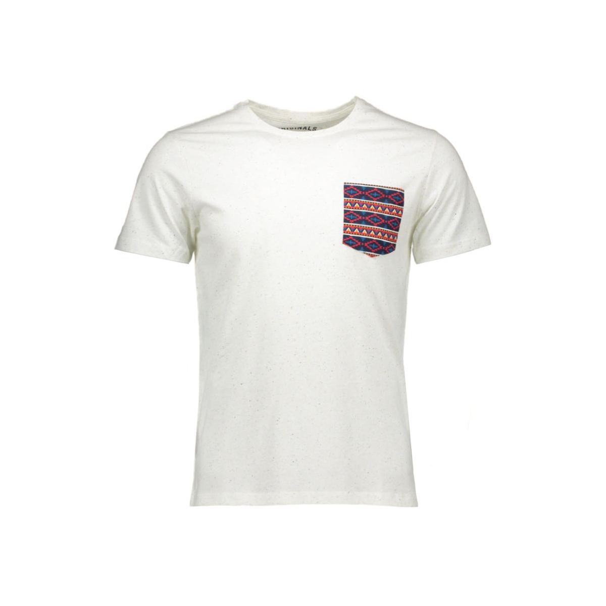 jornew bob tee 12078814 jack & jones t-shirt cloud dancer
