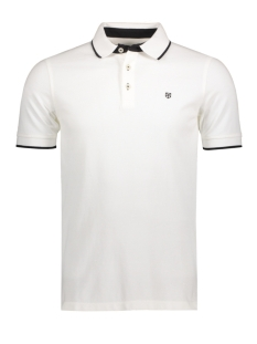 Jack & Jones Polo JPRPAULOS POLO SS NOOS 12091243 White