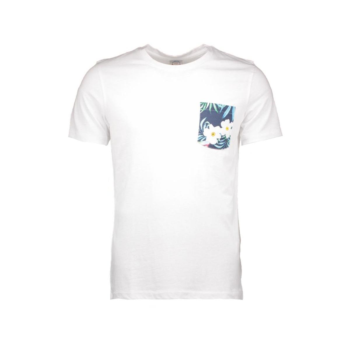 jorbobby tee 12106465 jack & jones t-shirt white