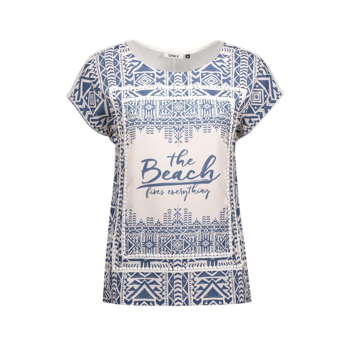 onlfree s/s top 15123454 only t-shirt cloud dancer