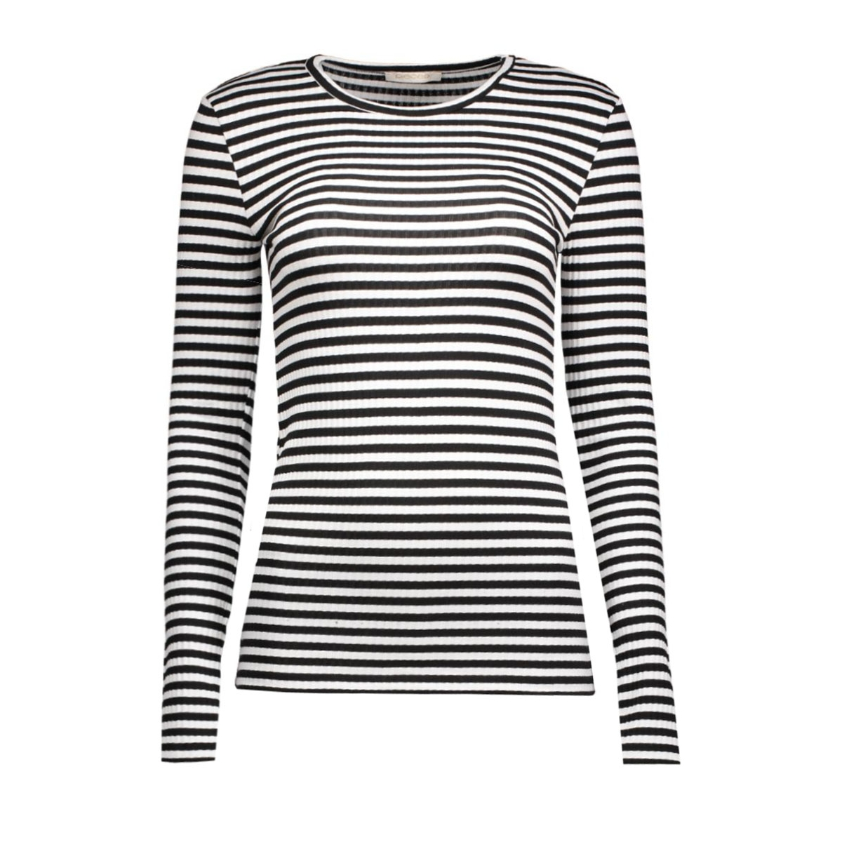 pcraya round neck blouse noos 17073091 pieces t-shirt black