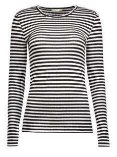 Pieces T-shirt PCRaya Round Neck Blouse Noos 17073091 black