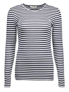 Pieces T-shirt PCRaya Round Neck Blouse Noos 17073091 navy blazer