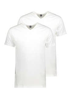 Alan Red T-shirt 6671 Vermont 2-PACK WHITE