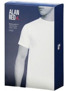 6672 derby 2 pack alan red t-shirt