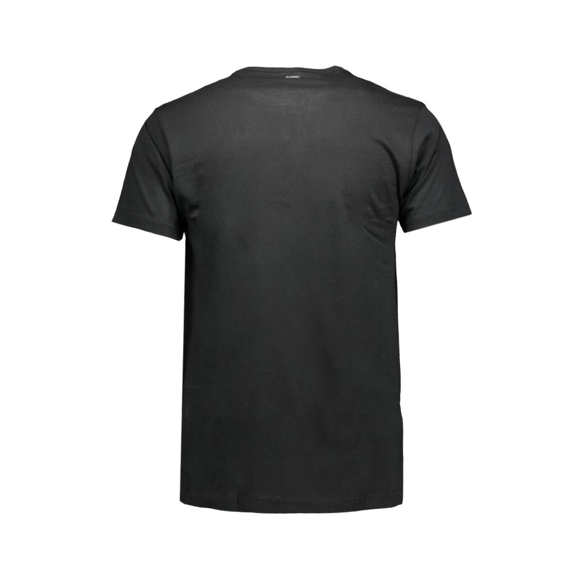 6672 sp derby alan red t-shirt black