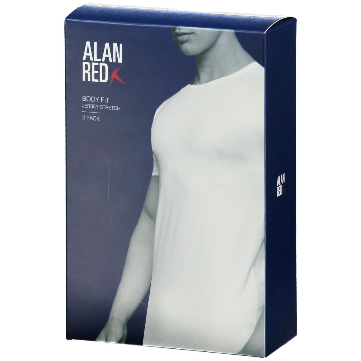 6680 ottowa 2 pack alan red t-shirt white