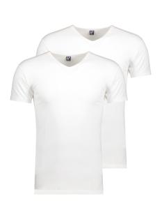 Alan Red T-shirt 6681 Oklahoma 2-PACK WHITE