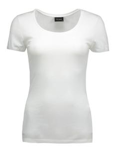 Vila T-shirt ViOfficiel New SS Top 14032644 optical snow