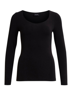 Vila T-shirt viOfficiel new l/s top 14032645 black