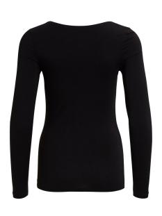 viofficiel new l/s top 14032645 vila t-shirt black