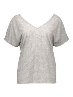 vibuzz t-shirt 14033199 vila t-shirt light grey melange