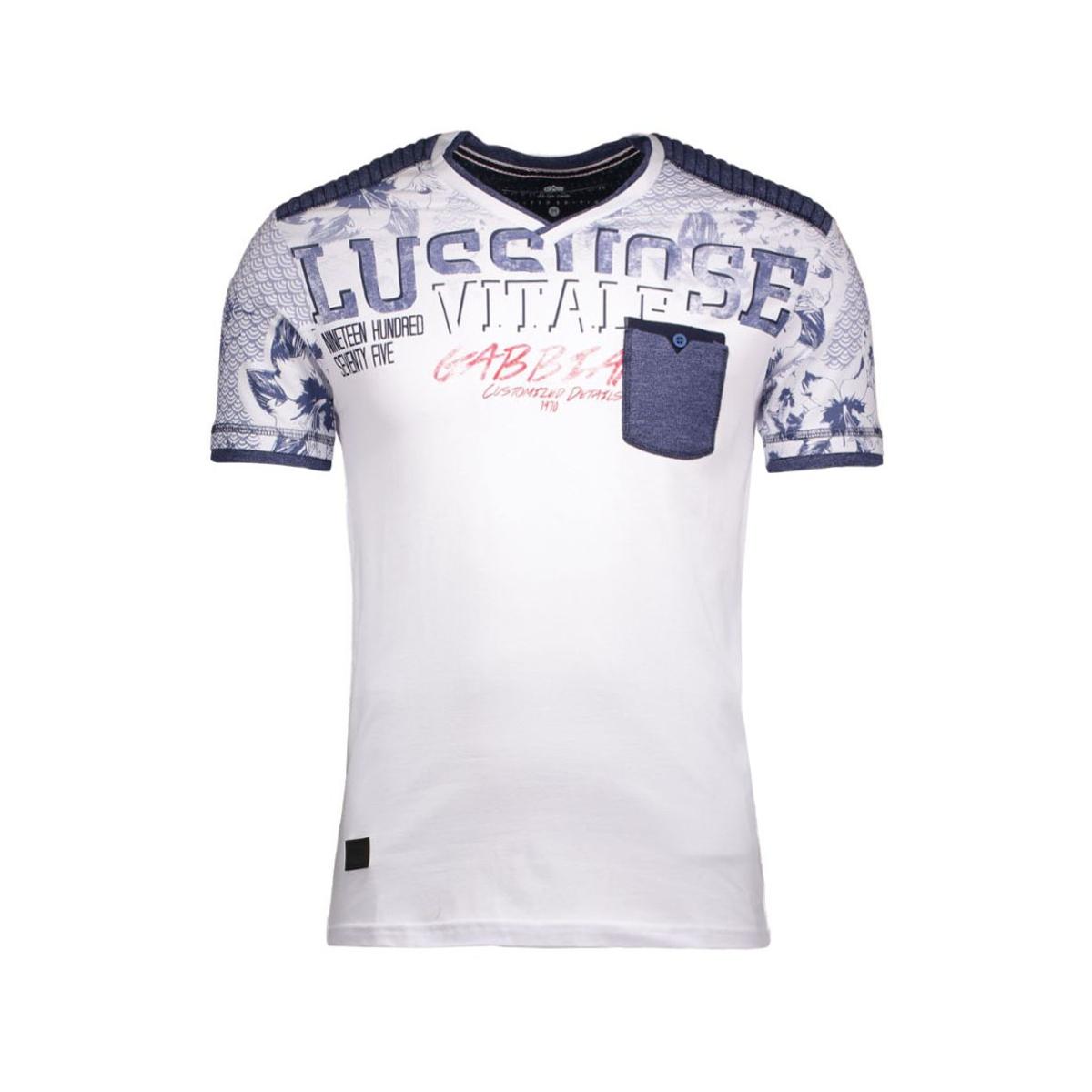 4997 gabbiano t-shirt wit