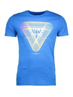 jcofloat-belkin tee ss o-neck camp 12108922 jack & jones t-shirt directoire blue/tall&slim