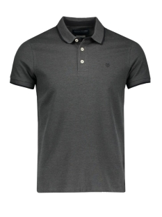 Jack & Jones Polo JJPRPAULOS POLO SS NOOS 12091243 Dark grey melan/Slim Fit