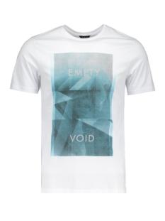 jcovoid tee ss crew neck 12117319 jack & jones t-shirt white/v-neck
